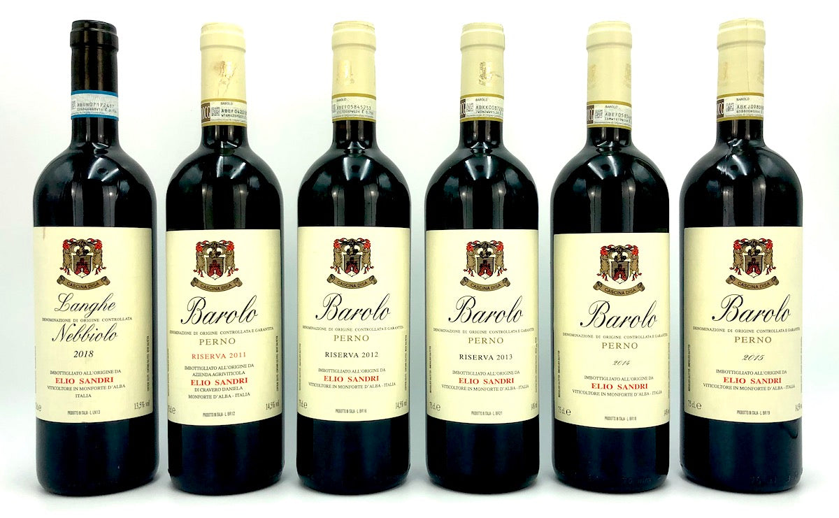 SANDRI BAROLO VERTICAL 2011-2015 WITH RESERVES