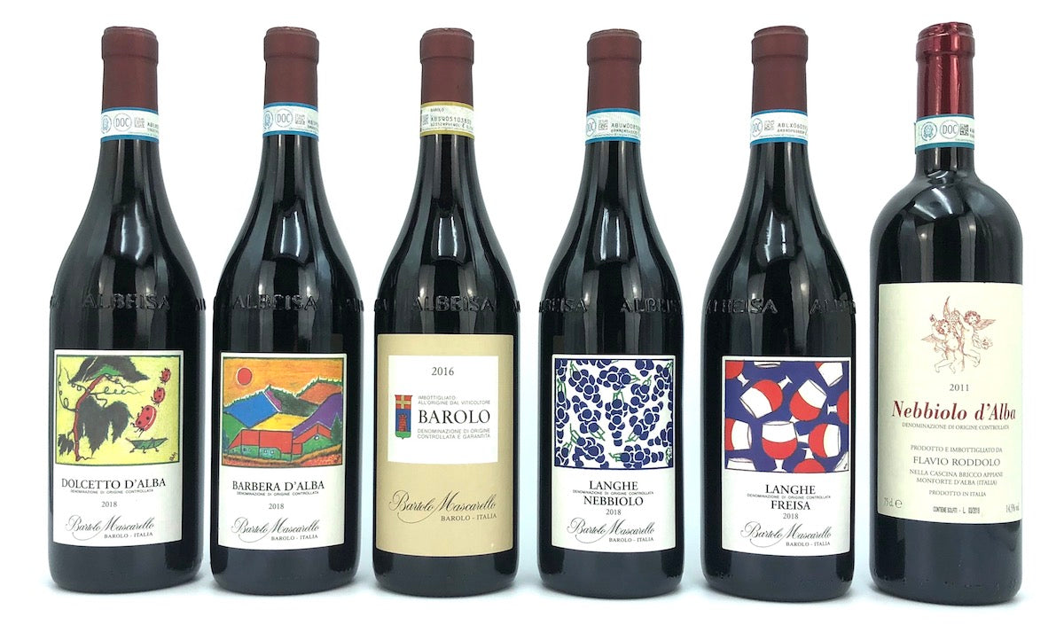 BAROLO MASCARELLO 2016 WITH FULL FLIGHT