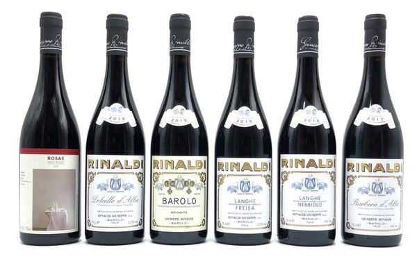 COMING SOON! GIUSEPPE RINALDI BAROLO BRUNATE 2011 & MIXED CASE