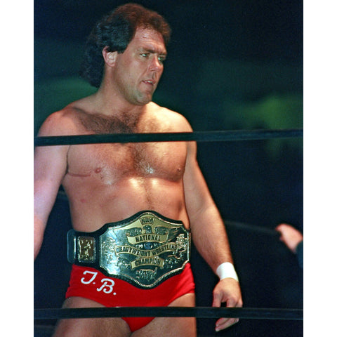 *Signed* Tully Blanchard In Ring Pose Promo
