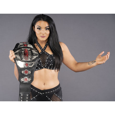 *Signed* Deonna Purrazzo Ring Gear Pose Promo