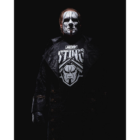 *Signed* Sting Winter is Coming 8 x 10 Promo