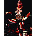 *Signed* Terry Funk In Corner 8 x 10 Promo