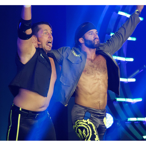 *Dual Signed* Chuck and Trent? Entrance 8 x 10 Promo