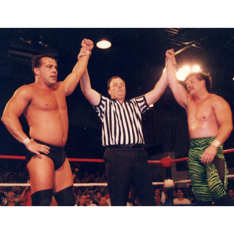 *Signed* Dean Malenko Arms Raised Promo