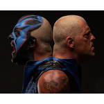 *Signed* Dustin Rhodes Face Off 8 x 10 Promo