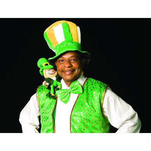 *Signed* Teddy Long St. Patty 8 x 10 Promo
