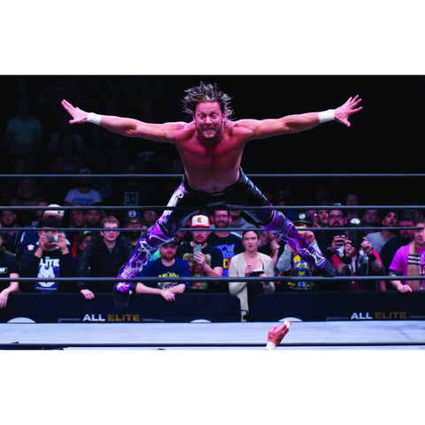 *Signed* Kenny Omega Stage Dive 11 x 17 Poster