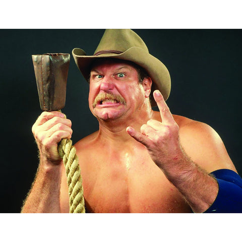 *Signed* Stan Hansen Black Background 8 x 10 Promo