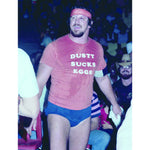 *Signed* Terry Funk Eat Eggs 8 x 10 Promo