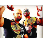 *Signed* Good Brothers IWGP Pose 8 x 10 Promo