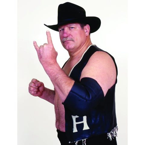 *Signed* Stan Hansen White Background 8 x 10 Promo