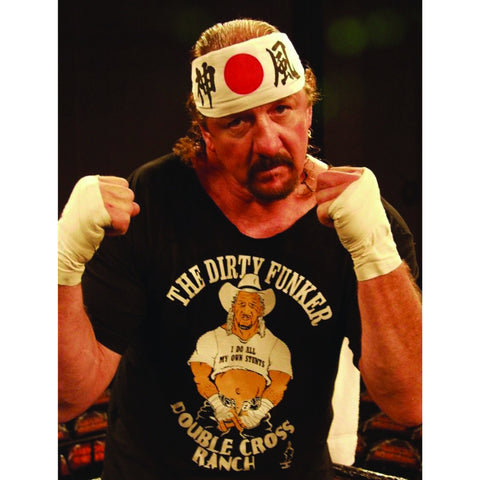 *Signed* Terry Funk Pose 8 x 10 Promo