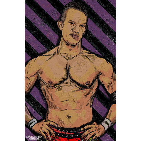 *Signed* Ricky Starks Nuclear Heat 11 x 17 Poster