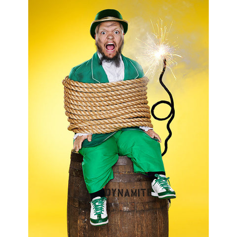 *Signed* Hornswoggle Tied Up Promo