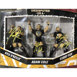 *SIGNED* Undisputed 3 Pack Figures *JSA Auth*