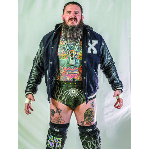 *Signed* Brody King Full Pose 8 x 10 Promo