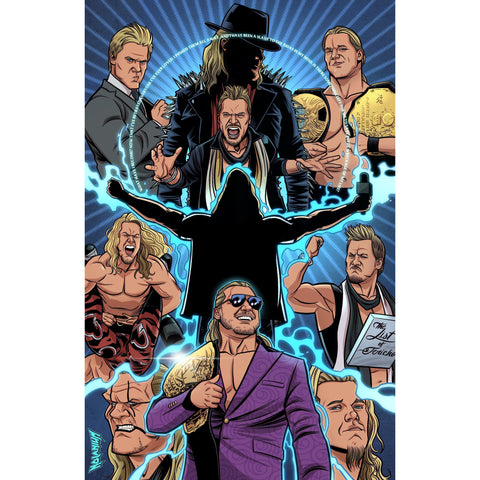 *SIGNED and NUMBERED* Chris Jericho Nolanium 11 x 17 Poster