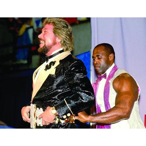 *Signed* Ted DiBiase Entrance 8 x 10 Promo