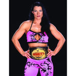 *Signed* Victoria Womens Title 8 x 10 Promo