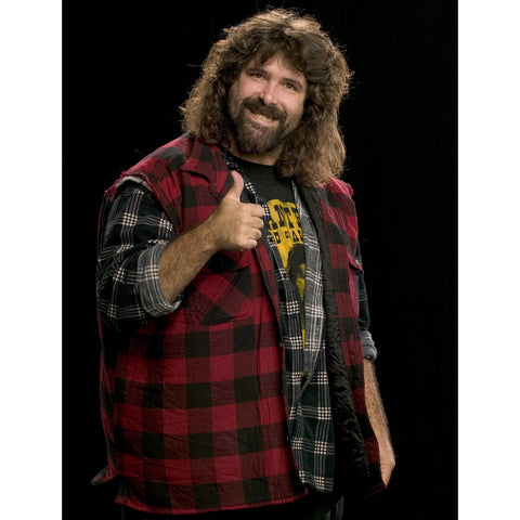 *Signed* Mick Foley Thumbs Up 8 x 10 Promo