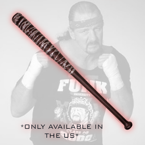 *Signed* Terry Funk Barb Wire Bat