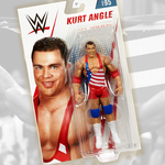 *Signed and Inscribed* Kurt Angle Mattel basic #95 Figure