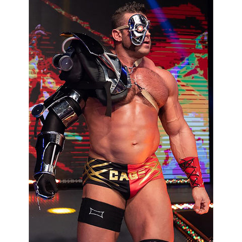 *Signed* Brian Cage Mech Suit Promo