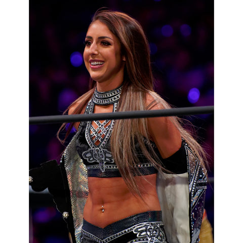 *Signed* Britt Baker Gear Off Promo