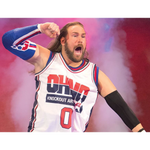 *Signed* Kassius Ohno All Star Elbow 8 x 10 Promo