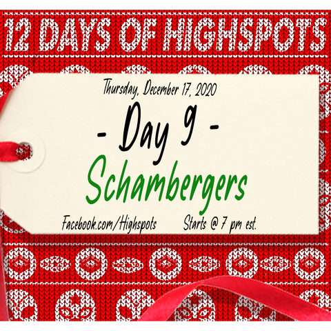 -HOLIDAY DEAL -       3 *Signed* Schambergers for $150 ( You Pick )