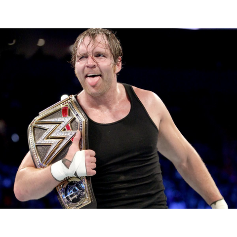 *Signed* Dean Ambrose World Champ 8 x 10 Promo