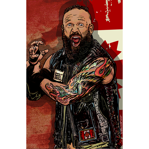*Signed* Eric Young Nuclear Heat 11 x 17 Poster