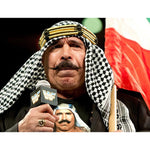 *Signed* Iron Sheik Legend 8 x 10 Promo