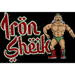 *Signed* Iron Sheik Hasbro Turnbuckle
