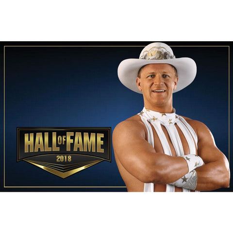 *Signed* Jeff Jarrett Hall of Fame 11 x 17 Poster