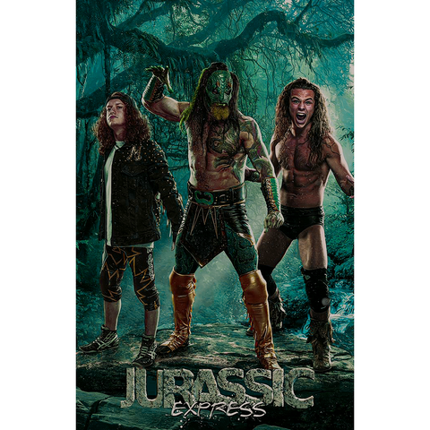 *Signed* Jurassic Express 11 x 17 Poster