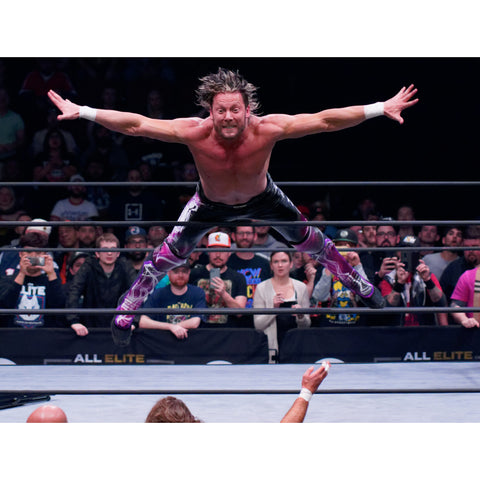 *Signed* Kenny Omega Stage Dive Promo