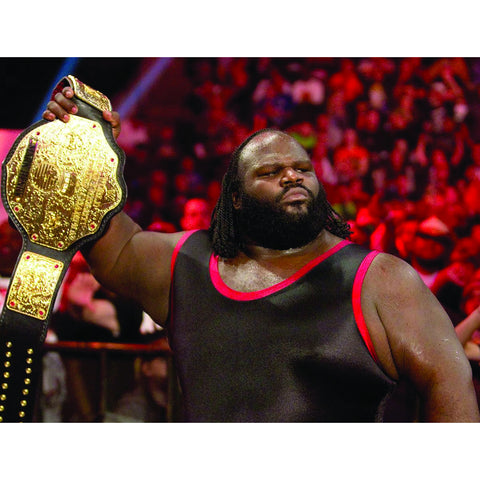 *Signed* Mark Henry Championship In Ring Promo