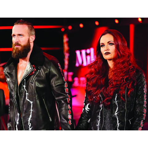 *Signed* Mike and Maria Kanellis Entrance Promo