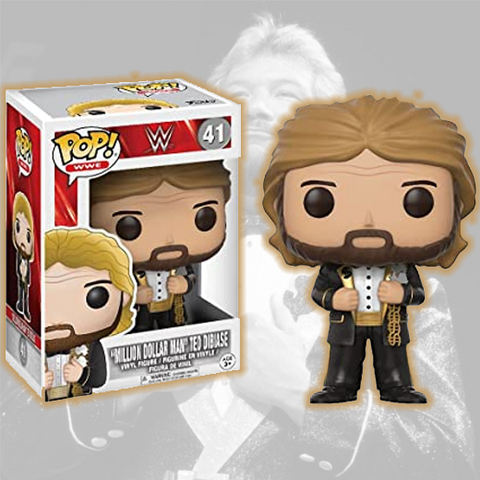 *Signed* Ted DiBiase Regular Funko Pop