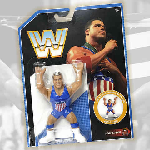 *Signed and Inscribed* Kurt Angle Retro Figure