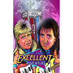 *Signed* Rock N Roll Express Vinay 11 x 17 Art Poster