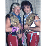 *Signed* Rock N Roll Express NWA TAG TITLE Promo