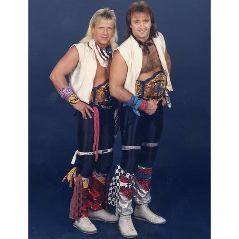 *Signed* Rock N Roll Express Full Pose Promo