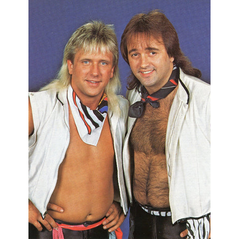 *Signed* Rock N Roll Express Pose Promo