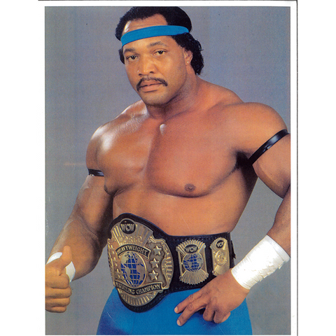 *Signed* Ron Simmons Champ 8.5 x 11 Promo