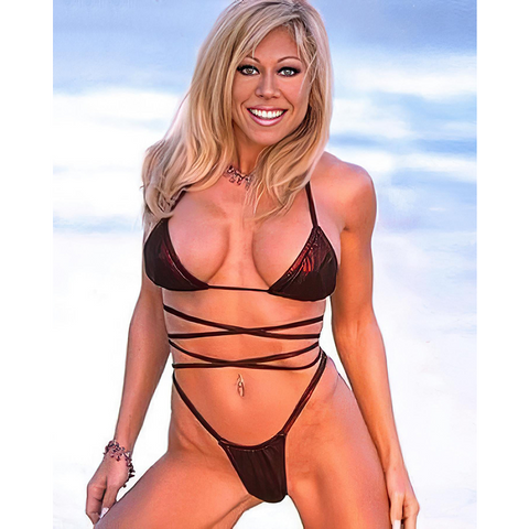 *Signed* Terri Runnels Full Pose 8 x 10 Promo
