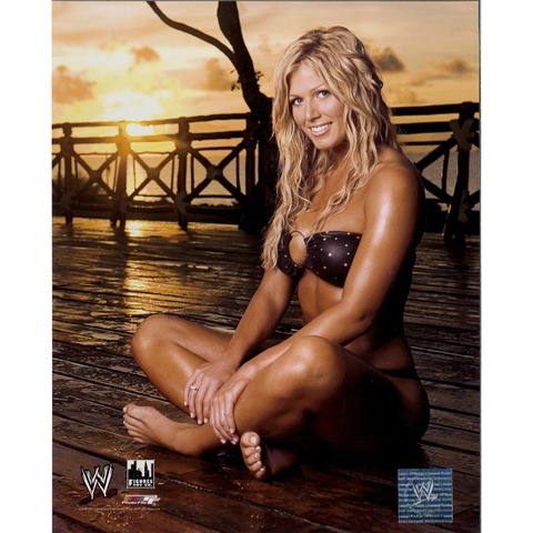 *Signed* Torrie Wilson Sunset 8 x 10 Photo File
