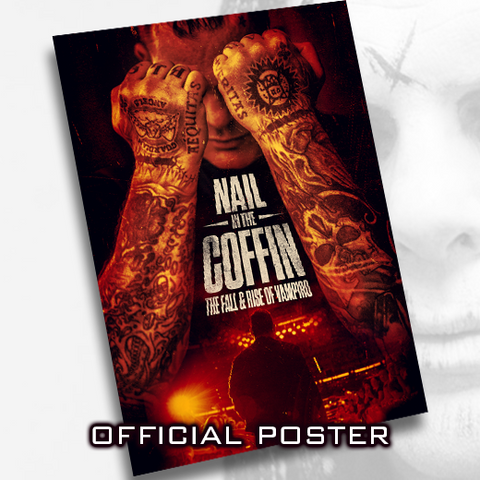 *Signed* Vampiro Nail In The Coffin 11 x 17 Poster